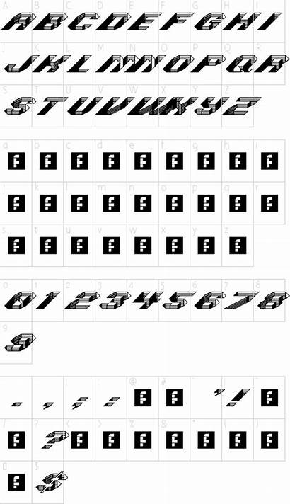 Journal Font Fonts Character Map