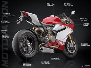 Rizoma License Plate Tail Tidy Kit Ducati    1299 Panigale