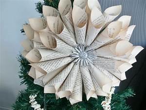 Deco Noel En Papier : decoration de noel en papier a faire soi meme facile ~ Melissatoandfro.com Idées de Décoration