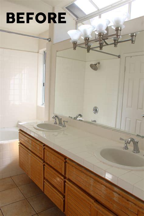 Gray And White Bathroom  Smart School House