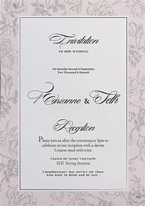 elegant wedding invitation in philippines chatterzoom With elegant wedding invitations in the philippines