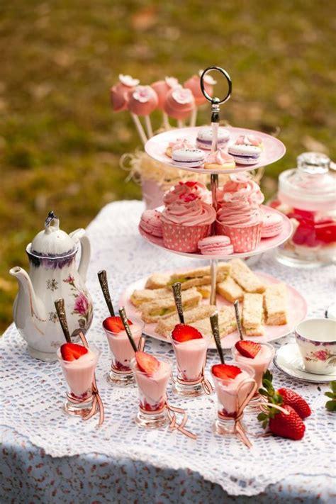 dainty feminine tea time color combinations
