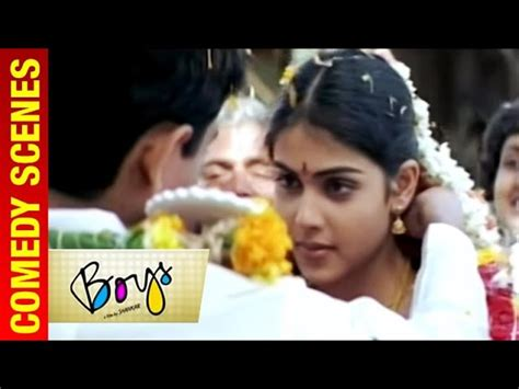 Boys Tamil Movie Siddarth And Genelia Get Married Vivek