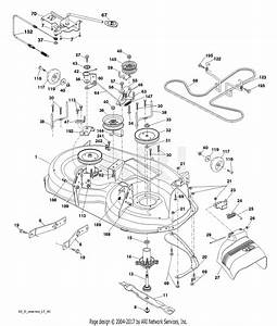 35 Poulan Pro 42 Inch Deck Diagram