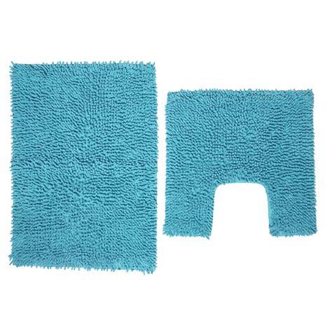 bath mat sets wilko pedestal and bath mat set aqua blue at wilko com