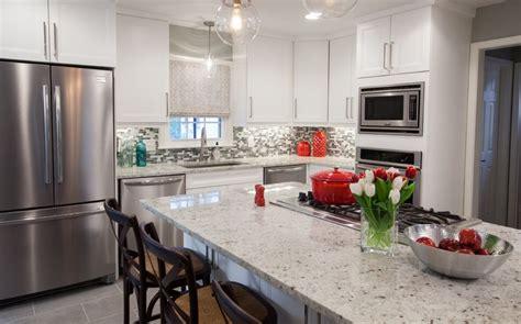 walls brothers designer kitchens property brothers episode 409 brown sofa greige walls 6979