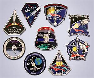 SpaceX launches sales of Falcon, Dragon space patches ...