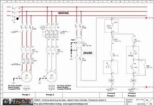 Branchement Moteur Triphasé : seb03 sch ma lectrique de base d part moteur triphas puissance version 2 e ~ Medecine-chirurgie-esthetiques.com Avis de Voitures