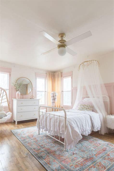 pink gold girls bedroom decor ideas big girl bedrooms
