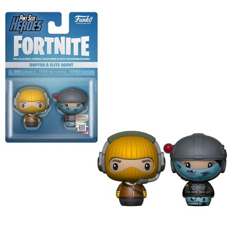 fortnite raptor elite agent pint size hero  pack