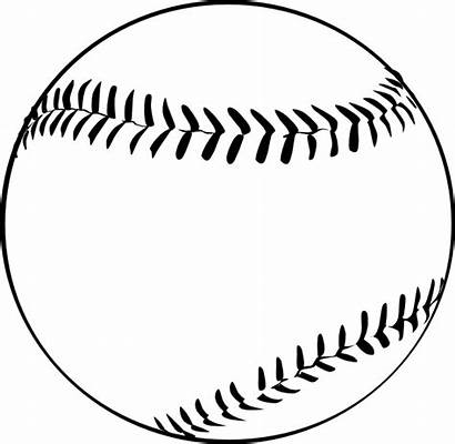 Baseball Coloring Pages Printable Softball Ball Baseballs