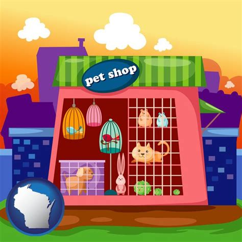 pet shops in wisconsin