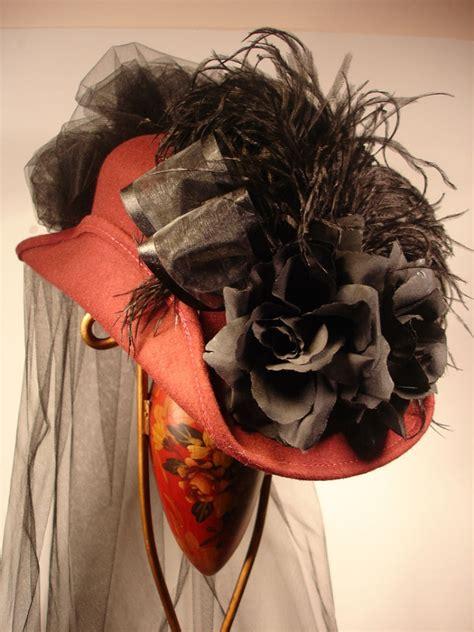 century ladies victorian riding hat    west