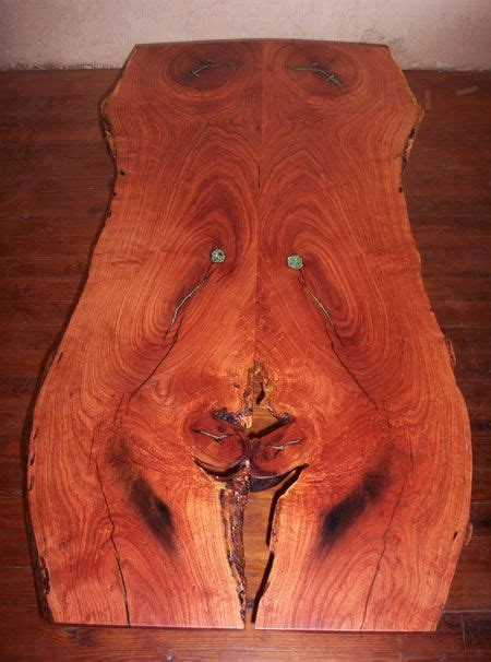 kind natural edge mesquite table natural wood