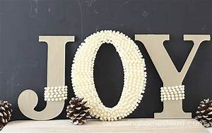 joy letters blooming homestead With joy greenery letters
