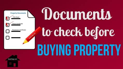 what to check when buying a flat property documents to check before buying a flat or plot