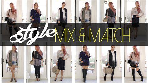 mix matching fall mix match styles dress it yourself ann le youtube