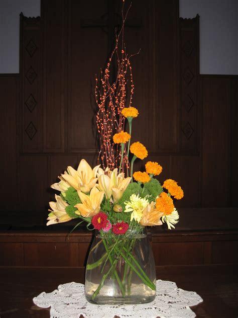 patties floral design church altar floral arrangement