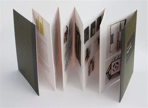 print  accordion style book