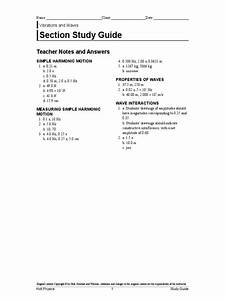 Section Study Guide  Teacher Notes And Answers