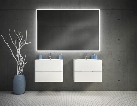 FLEURCO LUNA HALO LIGHTED MIRRORS   LDS&S Specialty