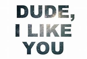 i like you, love, quote - image #298736 on Favim.com