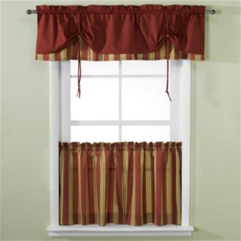 kitchen curtains bed bath and beyond buy valance and tier curtains from bed bath beyond