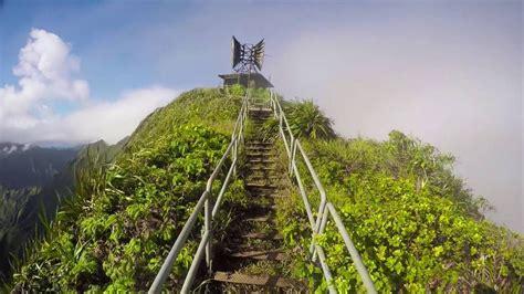 Illegal Haiku Stairs Stairway To Heaven Oahu Hawaii