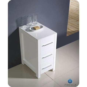 "Fresca Torino 12"" Transitional Bathroom Linen Side Cabinet"