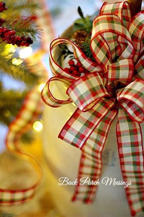 christmas   making bows crafty