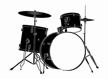 Drum Drums Clipart Kit Transparent Vector Bass