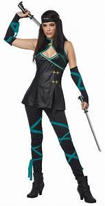 01265 New Sexy Ninja Mortal Kombat Cosplay Womens ...