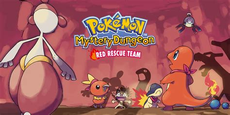 Pokmon Mystery Dungeon Red Rescue Team Game Boy