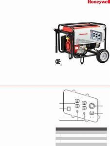 Honeywell Portable Generator 6038 User Guide