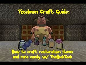 Pixelmon guide, pixelmon crafting guide