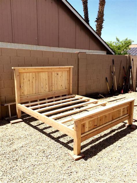 diy bed frame 17 best ideas about diy bed frame on diy bed