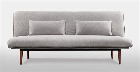 Ellis Home Furnishings Sleeper Sofa by Sleeper Light Grey Tweed Ellis Sofa Furniture