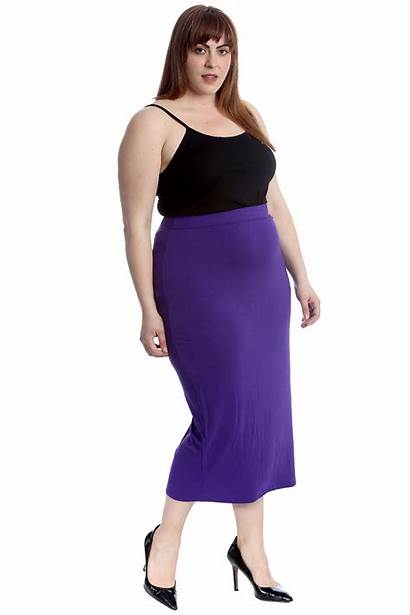 Skirts Ladies Pencil Skirt Office Stretch Bodycon