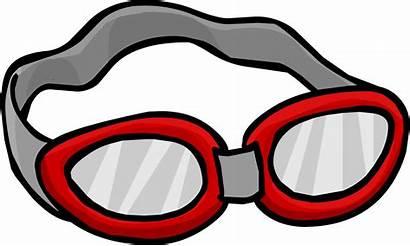 Goggles Swimming Clipart Swim Penguin Clipartmag Wikia