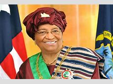 The repairwoman President Ellen Johnson Sirleaf