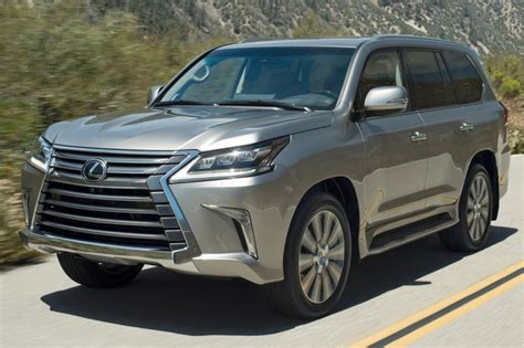 Lexus Lx 570 2016 Best Lease Deals, Purchase Pricing