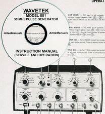 WAVETEK 750 Phase Meter  SERVICE /& OPS MANUAL
