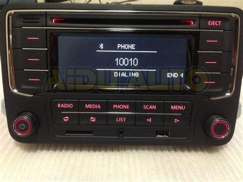 vw golf 5 radio vw volkswagen original oem car radio rcn210 cd mp3 usb sd