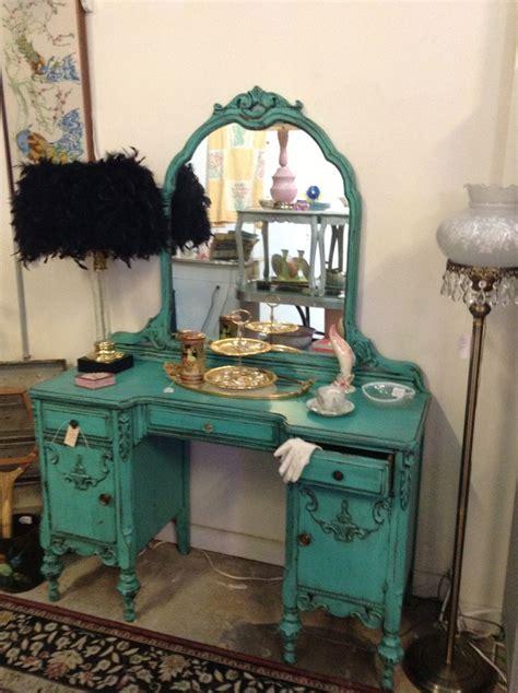 fun  turquoise teal vanity