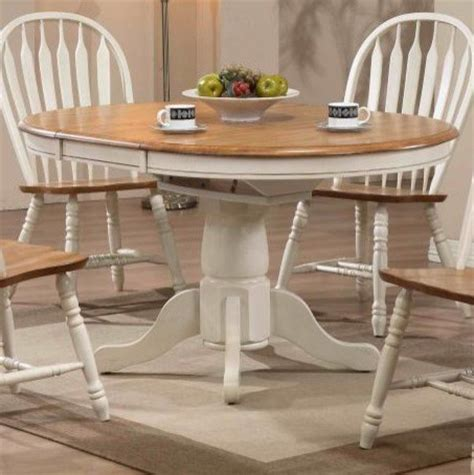 amish dining table reviews missouri single pedestal table antique white