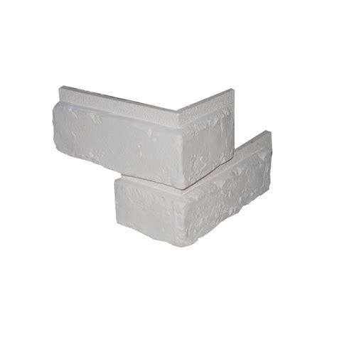 plaque ardoise cuisine plaquette de parement angle sortant plâtre blanc x 7 chelsea leroy merlin