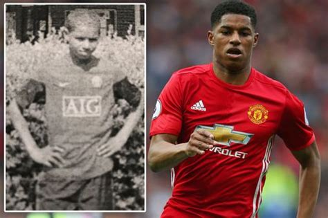 Marcus Rashford PREDICTED he would star for Manchester ...
