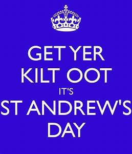 Happy St Andrew's Day | Andrew James