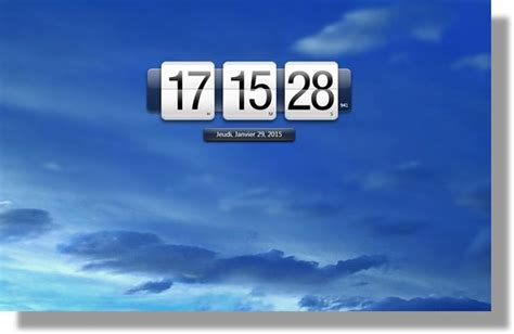 afficher horloge sur bureau horloge sur pc bureau gratuit 28 images horloge pc