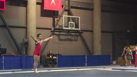 dominic palange floor exercise  winter cup day